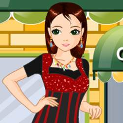 Shopping Girl Dress Up Game