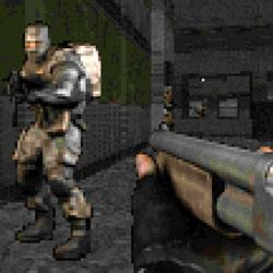 Modern Trooper Shooter Game