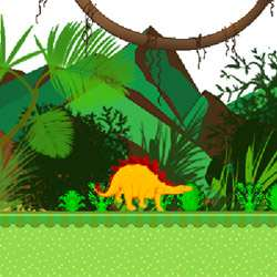 Tiny Dino Adventure Game