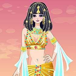 Egyptian Empress Dress Up Game