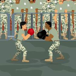 Army Boxing Game