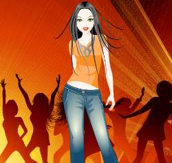 Party Paula Dress Up Game