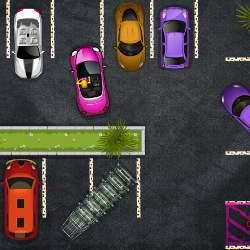 Blonde Parking Havoc Game