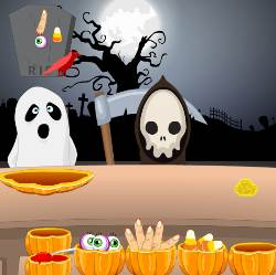 Halloween Kids Treat Game