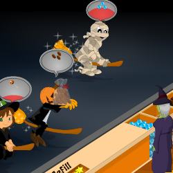 Halloween Candy Shop 2 Game