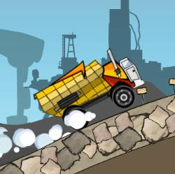 Rusty Truck Race Game