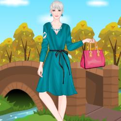 Autumn Fashionista Dress Up Game
