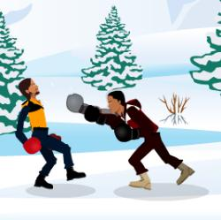 Winter Boxing Game