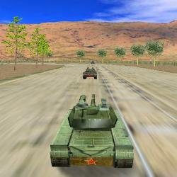 3D Tank Racing Game