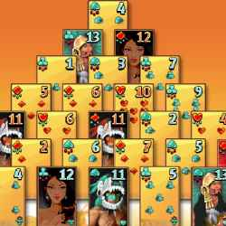 Aztec Pyramid Solitaire Game