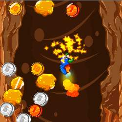 Worminator Jetpack Frenzy Game