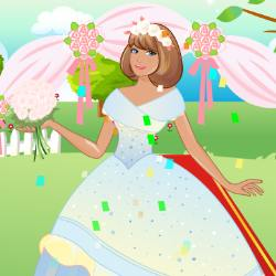 Fall Wedding Dress Up Game