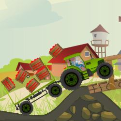 Farmer Ted's Tractor Rush Game