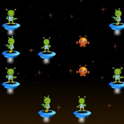 Aliens Attack Game