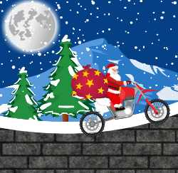 Christmas Bike Trip Game