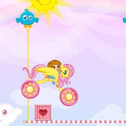 Rainbow Pony Ride Game