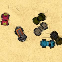 Monster Truck Survival Game