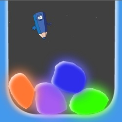 Draw Gems Game