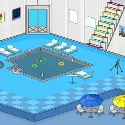 Indoor Swimming Pool Escape Game