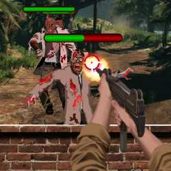 Forest Officer Zombies Shooting Game