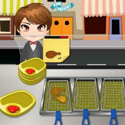 Chicken Food Cart Game