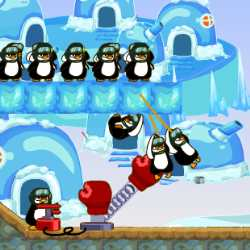 Penguins Counter Attack Game