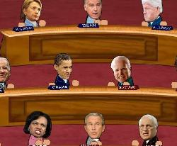 Election Smackdown 2008 Game
