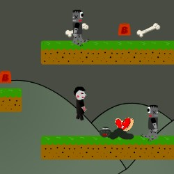 Vampire Hates Zombie Game