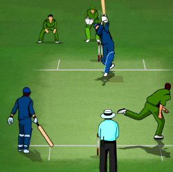 Indo-Pak Cricket Showdown Game