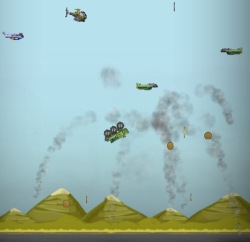 Indestructo Tank Launch Game