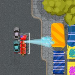 Firetruck Emergency Parking Game