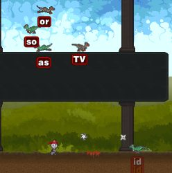 Ninja Cat and Zombie Dinosaurs Game