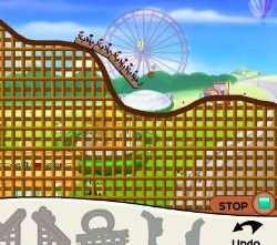 Rollercoaster Creator Game