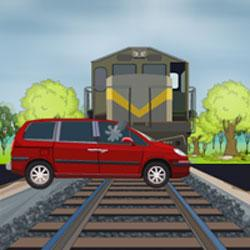 Live Escape - Train Track Game