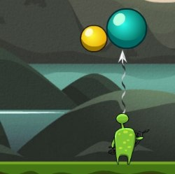 Bubble Slasher Game