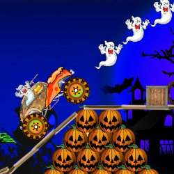 Halloween Monster Car Game