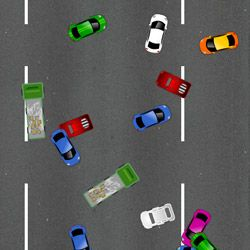 Collision On The Road Game