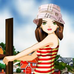 Summer Fashion Dress Up Game