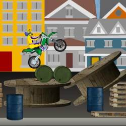 Funny Moto Trial Game