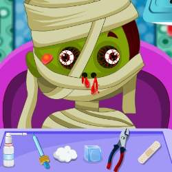 Crazy Monsters Doctor Game