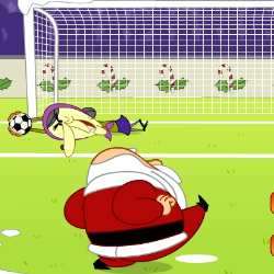 Xmas Penalties Game