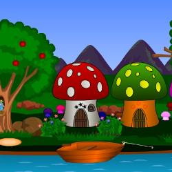 Mushroom Village Escape Game