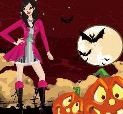 Hot Halloween Costumes Girls Game