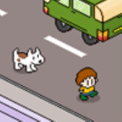 Boy Being Chased By Dog Game
