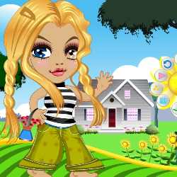 Amaryllis Doll Dress Up Game