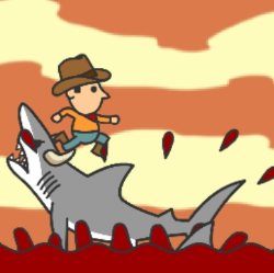 Shark Rodeo Game