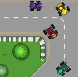 Battle Kart Racing Game
