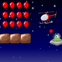 Helicopter and UFO Game