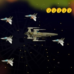 Space Strike Force Game