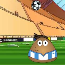 Pou Juggling Football Game